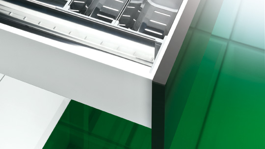 GRASS - Products - Concealed drawer slide systems - Dynamoov